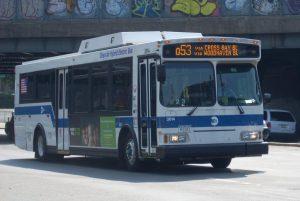 MTA bus in Queens NY