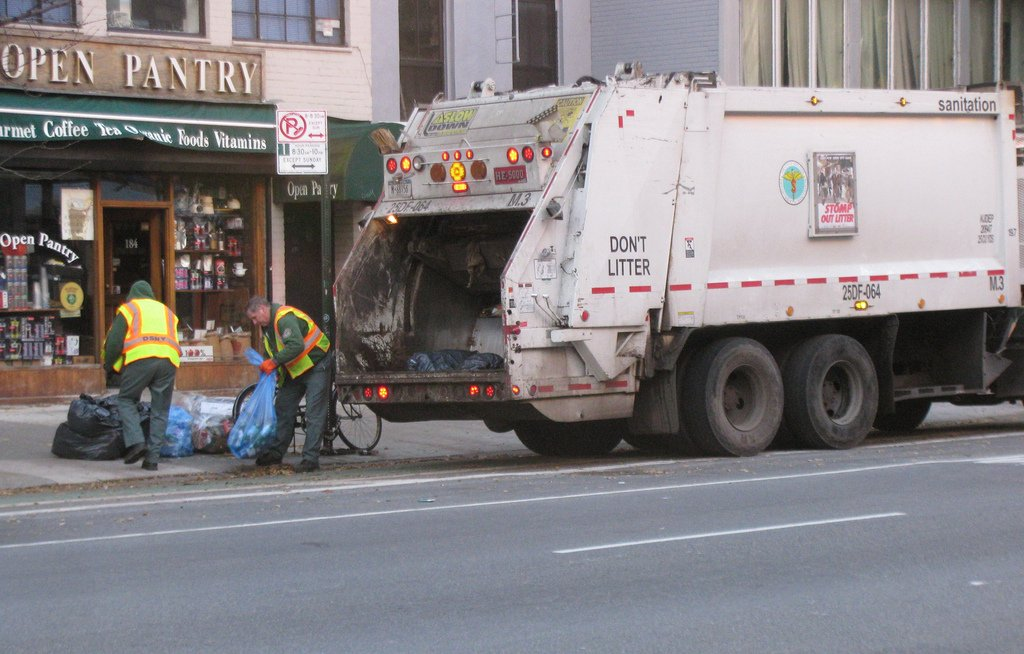 Sanitation Truck Accident in Queens