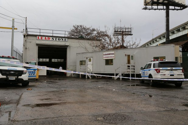 warehouse worker crushed to death in Queens
